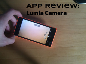 Nokia Lumia 735: Nokia/Lumia Camera, a closer look