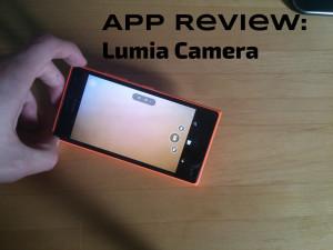 Nokia Lumia 735: Nokia/Lumia Camera, a closer look