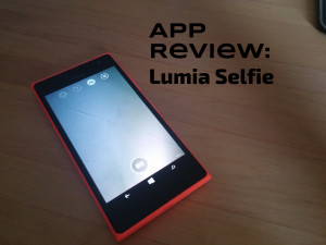 Nokia Lumia 735: Behold, the Lumia Selfie App