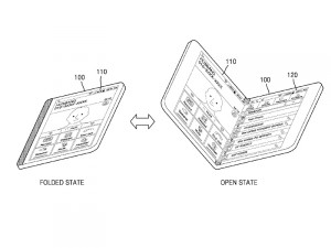 Samsung: new Patent for a fold-able Smartphone