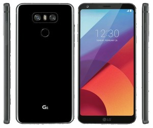 LG G6 : Black press render has emerged