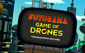 Futurama – A Game of Drones: A nice little matching game for Fans.