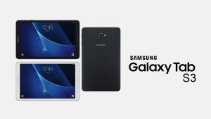 Galaxy Tab S3: Rumors say it will come with an S Pen.