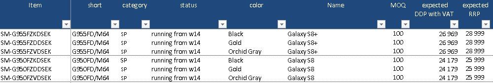 Galaxy-s8-color-price