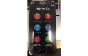 Moto G5 Plus: A picture emergs showing off some specs