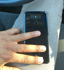 LG G6: New Images leaked, showing a glossy Backside.