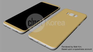 Galaxy S8 : New renders emerge according to an eyewitness.