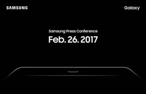 MWC 2017: Samsung giving out Invitations for feb. 26th .